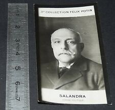 PHOTO IMAGE FELIX POTIN 1920 3e ALBUM POLITIQUE SALANDRA ITALIE ITALIA