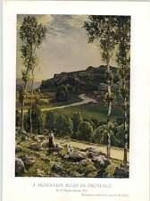 1930 H Hughes-Stanton in Mountain Road IN PROVENZA STAMPA ARTISTICA