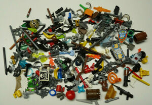 LEGO 125x Figuren Zubehör per Zufall sortiert Konvolut Es kann alles dabei sein!