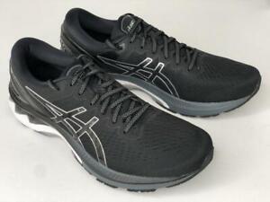 Men's Asics GEL-Kayano 27 Running Athletic Shoes Black Pure SIlver