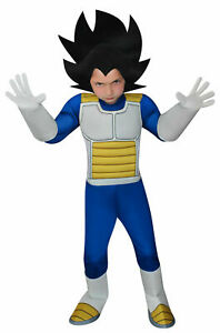 Dragon Ball Z Super DBZ Vegeta Padded Child Halloween Costume Boys Medium (8-10)