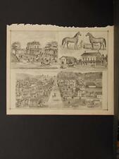 New York, Chautauqua County Engraving, 1881 Carroll N6#62
