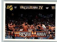 1990 Classic WWF WWE History of Wrestlemania #57 Battle Royal