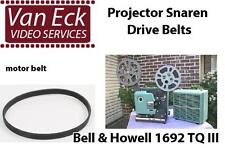 Bell & Howell 1692 TQ III belt (motor belt). New belt