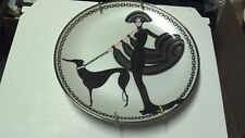 Franklin Mint House Of Erte' Plate Limited Edition Symphony In Black - #F1563