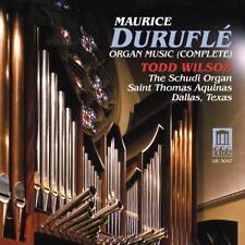 Wilson,Todd - Durufle/Orgelwerk (Ga) - CD