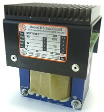 ROBERS NTA 10/24.1 Transformator Trafo 250VA Pri. 400V 0,75A Sec. 24V 10A 5V 1A