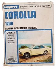 toyota corolla car service repair manuals ebay rh ebay co uk Toyota Corolla Service Diagrams Toyota Corolla Maintenance