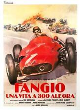 FANGIO LIFE AT 300KM AN HOUR MASERATI 250F RACE ITALIAN POSTER CIRIELLO ORIGINAL