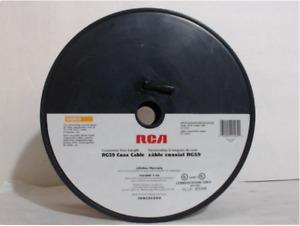 RCA CVH-59500U 500ft RG-59 Coaxial Cable