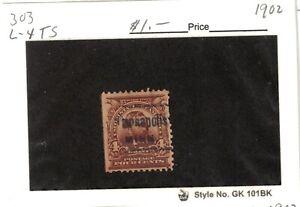 JimbosStamps, U.S .precancels 1902 issue, 4 cent Grant., Minneapolis, Minn.