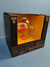 Handheld Electronic Basketball Game MERCHSOURCE Black Series NIB Sound & Timer