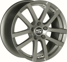 4 alloy rims  MSW 22 6x15 SEAT ALTEA (5P)