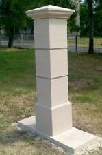 Gate Piers Pillars Cast Stone PG-08