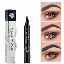 Microblading Tattoo Eyebrow Pencil Fork Tip Sketch Liquid Tatoo Pen Long Lasting