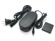 AC Power Adapter +DC Coupler For Panasonic Lumix DMC-TS1 DMC-TS2 DMC-TS3 DMC-TS4