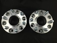 "2X Hubcentric Wheel Spacers ¦ 6x5.5 (6X139.7) ¦  ¦ 14X1.5 ¦ 1.0"" INCH 25MM Chevy"