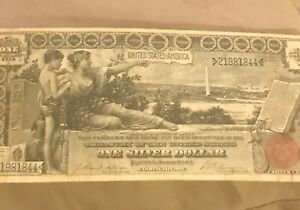 1896 $1. Silver certificate Educational note nice grade