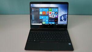 HP Spectre X360 13-AC000CTO i7-7500U 16GB RAM 256GB SSD FHD Touch screen.
