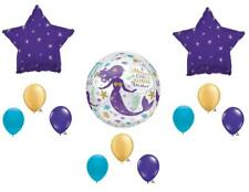 Mermaid Kisses Starfish Wishes Birthday Party Balloons Decoration Supplies Ocean