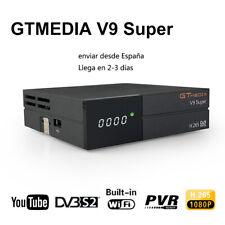 GTmedia V9 SUPER DVB-S2 Receptor de TV digital por satélite construido con Wifi