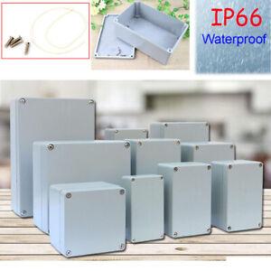 IP66 Cast Aluminum Metal Electronic Enclosure Project Case Power Junction Box