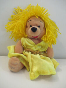 "Disney Store - Winnie the Pooh Mini Bean Bag 8"" - Retired - Virgo"