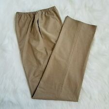 SHAMASK Camel Wool Elastic Waist Pull On Pant Size 1 MSRP $495 NEW WITH TAG