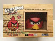 Speaker Gear4 Angry Birds Docking Station Red Bird Dock Iphone Ipod Ipad Android