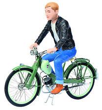 Schuco NSU Quickly mit Fahrerfigur grün green Metallmodell 1:10 Art. 450662800