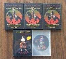 Los Secretos de Alta Escuela + Los Secretos de Rienda DVD 1-6 Set Completo