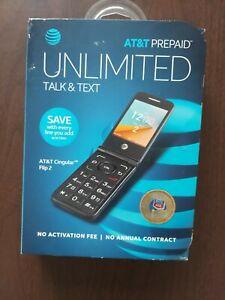 AT&T Cingular Flip2 Prepaid Flip Phone,