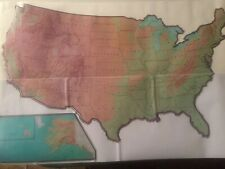 Giant Usa Map Wall Decal Sticker Repositional Classroom Decoration Home School