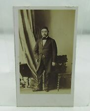 KONSTANTINOS MOUSOUROS ANTIQUE TURKISH DISDERI CDV Kostaki Musurus Bey/Pasha