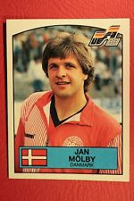 Panini EURO 88 N. 115 DENMARK MOLBY WITH BACK VERY GOOD / MINT CONDITION!!!