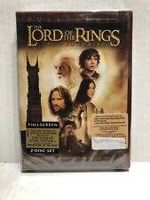 The Lord of the Rings: The Two Towers & Special Features Fullscreen Dvd's / New