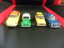4 Voitures Miniatures Taxis 1/43