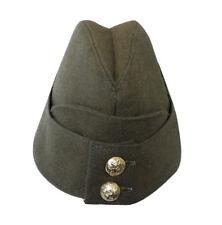 British Army WW2 Khaki Side Cap hat WW11 style hat