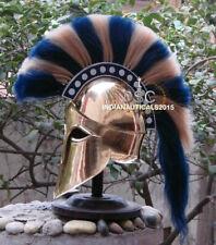 Copper Medieval Ancient Costume Armour Roman Greek Corinthian Helmet handmade