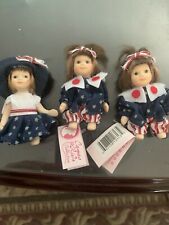 Porcelain American Themed Child Dolls Fom Cameo Kids