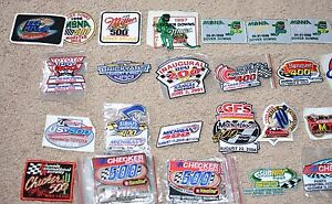 NASCAR Race Patch Officially Licensed Many RARE for Jacket Hat Backpack Souvenir