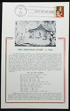 First Day of Issue FDC The Christmas Stamp USA Ersttagspost (H-7337+