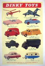 1958 Dinky Toys ADVERT Vauxhall Cresta, Armoured Car etc. - Vintage Print AD