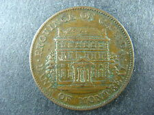 PC-1B1 Halfpenny 1844 token Province of Canada Montreal Breton 527