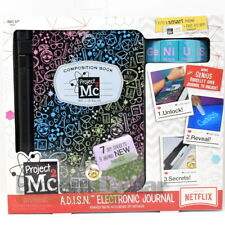 Project Mc2 A.D.I.S.N. 7 Spy Gadgets Electronic Purple Journal