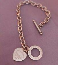 Bracciale da donna Tiffany & co colore argento 925 return to tiffany a catena