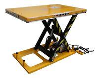 """Omni Electric Hydraulic Scissor Lift Safety Table 32 x52"""" x40in2000lb 1Ton 110v"""