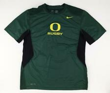 Oregon Ducks Green Rugby Large Active Shirt by Nike Dry-Fit
