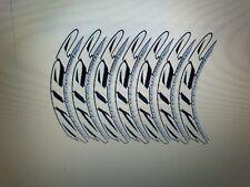 decalcomanie adesivi stickers zipp 202 set per 2 ruote