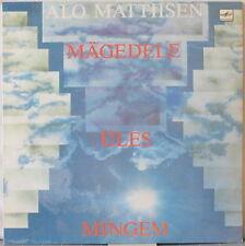 ALO MATTIISEN Mingem Ules Magedele LP Estonian Rock ex-IN SPE – on Melodiya